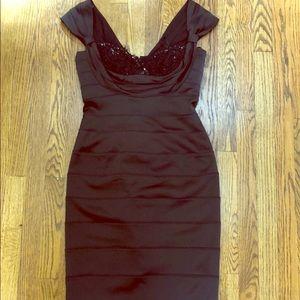 Tadashi Black Evenimd Dress Size 6
